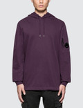 CP Company Garment Dyed Light Fleece Hoodie Picutre