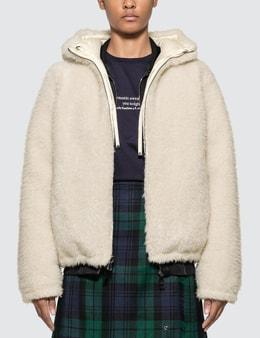 Moncler Reversible Kolima Sherpa Zip Jacket