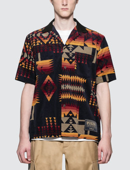Sacai Pendleton Print Shirt