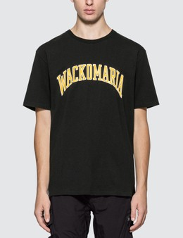 Wacko Maria Washed Heavy Weight Crew Neck T-shirt (Type-4)