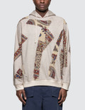 Paria Farzaneh Iranian Patchwork Hoodie Picture