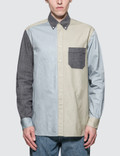 Loewe ELN Patchwork Oxford Shirt Picutre