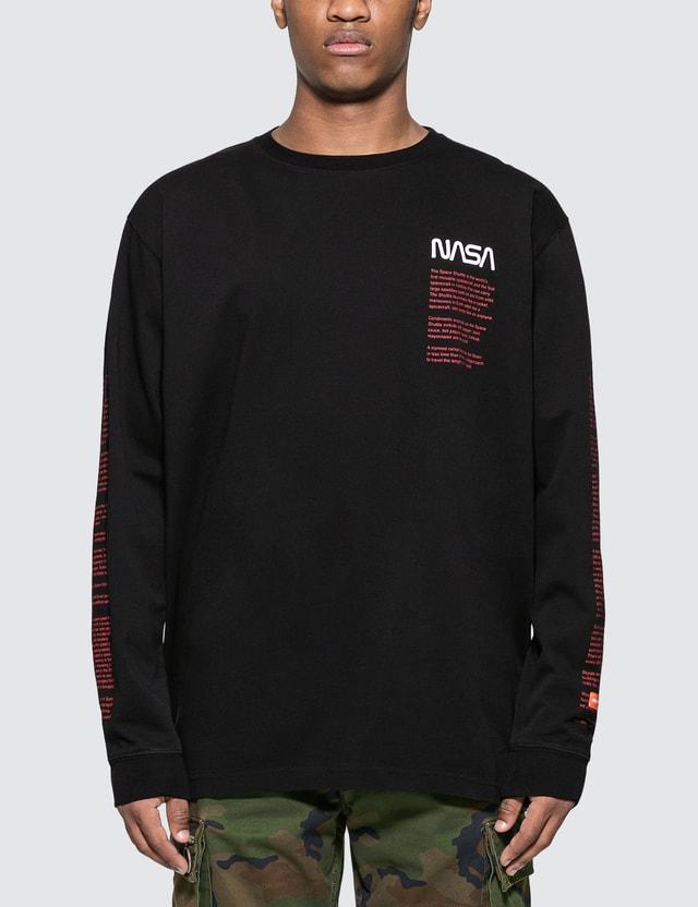 Heron Preston NASA Over Long Sleeve T-Shirt