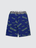 Versace Versace Monogram Sweatshorts (Toddler) Picture