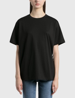 Burberry Coordinates Print Cotton Oversized T-Shirt