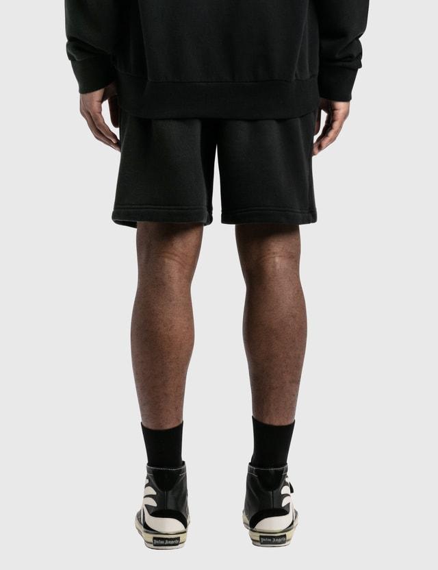 Palm Angels Skull Shorts Black Men