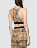 Burberry Dalby Check Sports Top