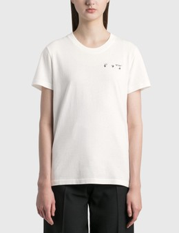 Off-White Arrow Liquid Melt Casual T-shirt