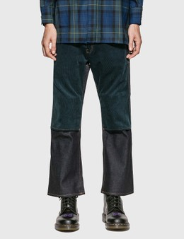 JieDa Switching 2-Way Flare Pants