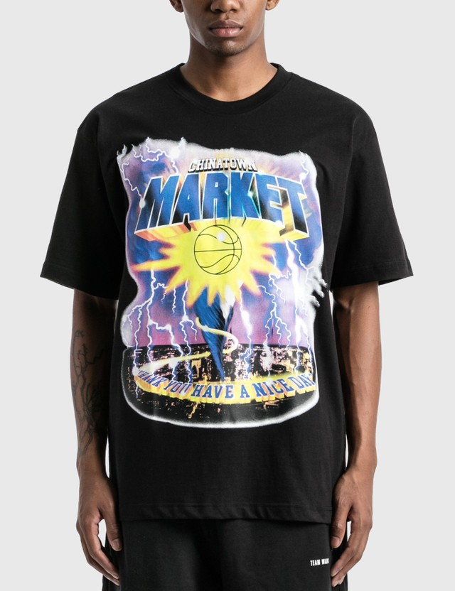 Chinatown Market Tornado T-Shirt Black Men