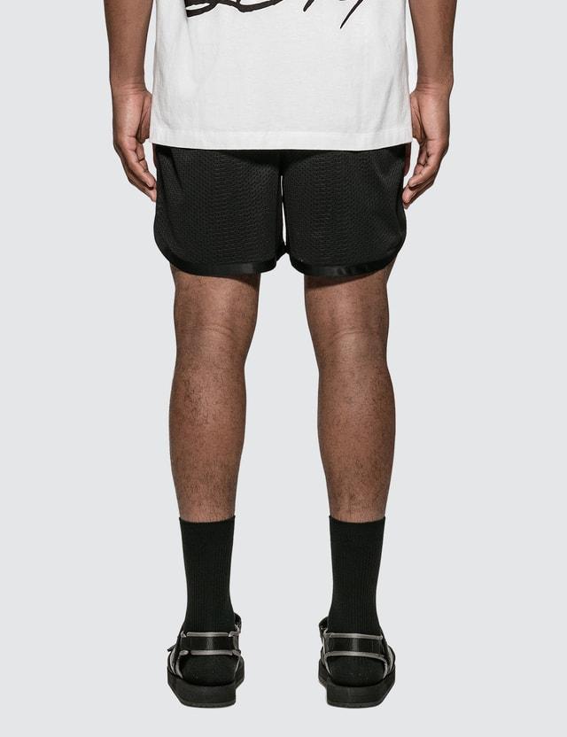 Off-White Caravaggio Arrows Mesh Shorts