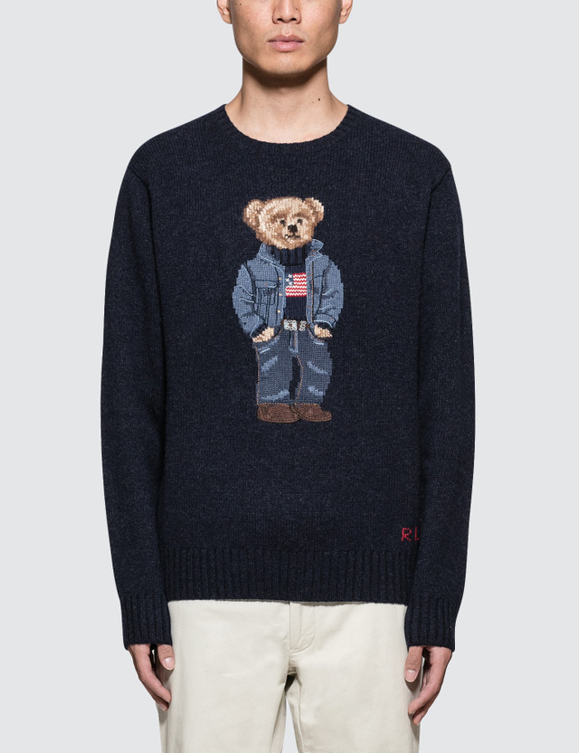Polo Ralph Lauren Denim Bear Knitwear