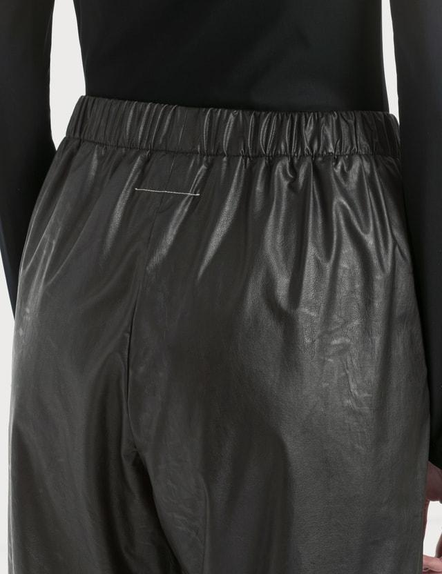 MM6 Maison Margiela Eco Leather Pants