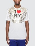 Versace I Love NY Print T-shirt Picture