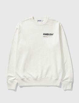 Ambush Fleece Workshop Sweatshirt