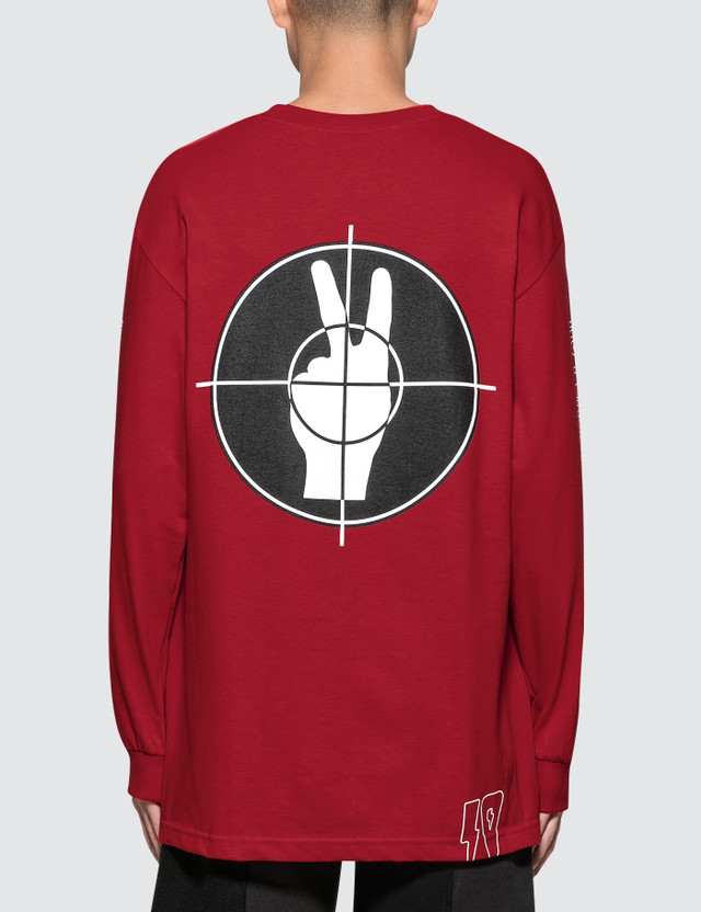 10.Deep No Peace L/S  T-Shirt