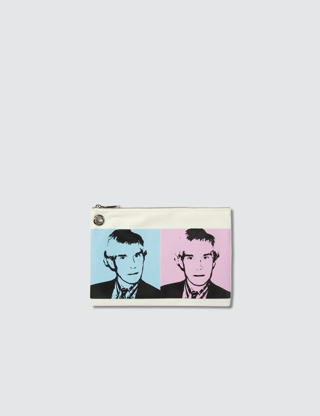 Calvin Klein Jeans Warhol Self Portraits Triple Pouch with Strap