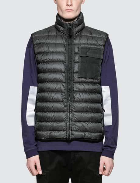 스톤 아일랜드 Stone Island Garment Dyed Micro Yarn Down Jacket