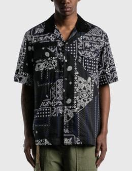 Sacai Hank Willis Thomas Archive E Print Mix Shirt
