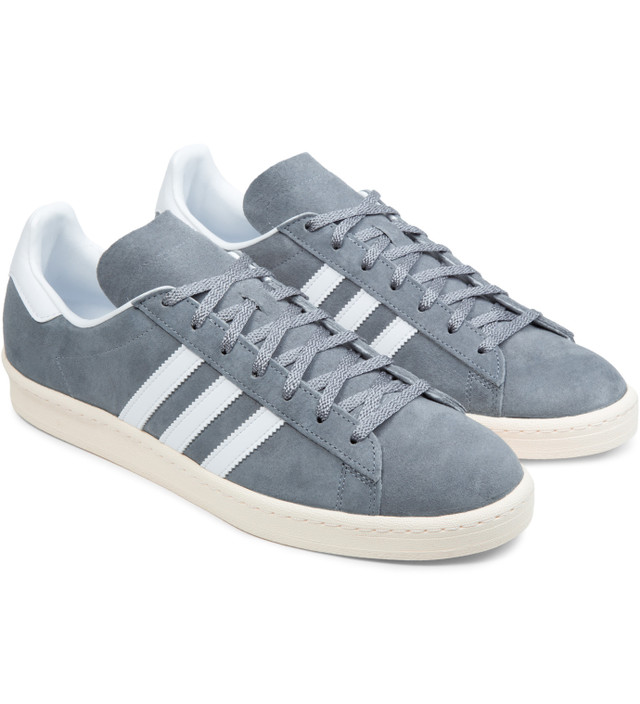 Adidas Originals adidas Originals x NIGO Grey White Cream White Campus 80s  Shoes 182a775b0