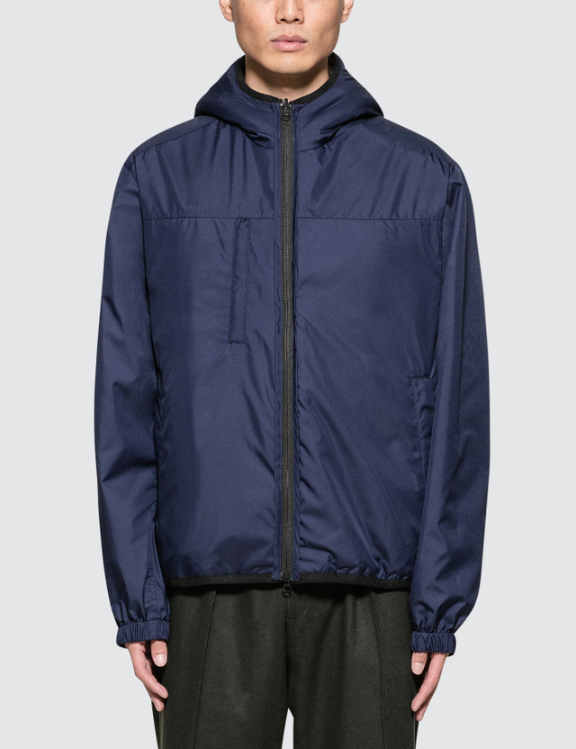 3.1 Phillip Lim Reversible Sherpa Vest with Hood