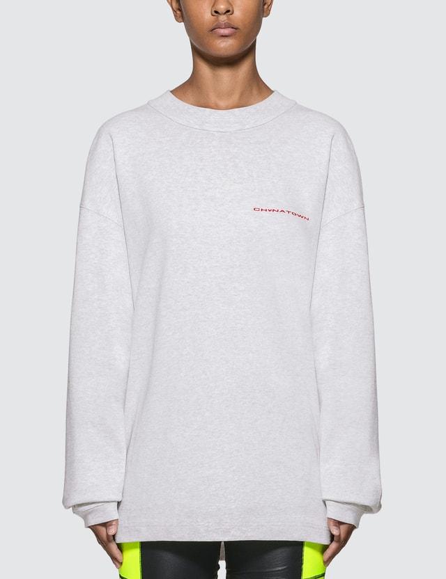 Alexander Wang Chynatown Long Sleeve T-shirt