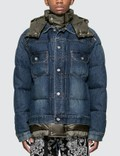 Sacai Denim Down Jacket Picture