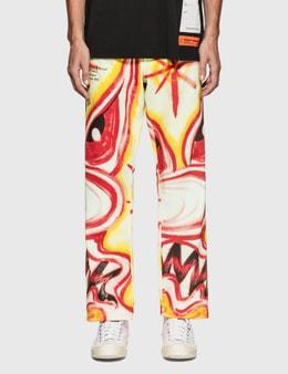 Heron Preston Heron Preston X Kenny Scharf Jeans