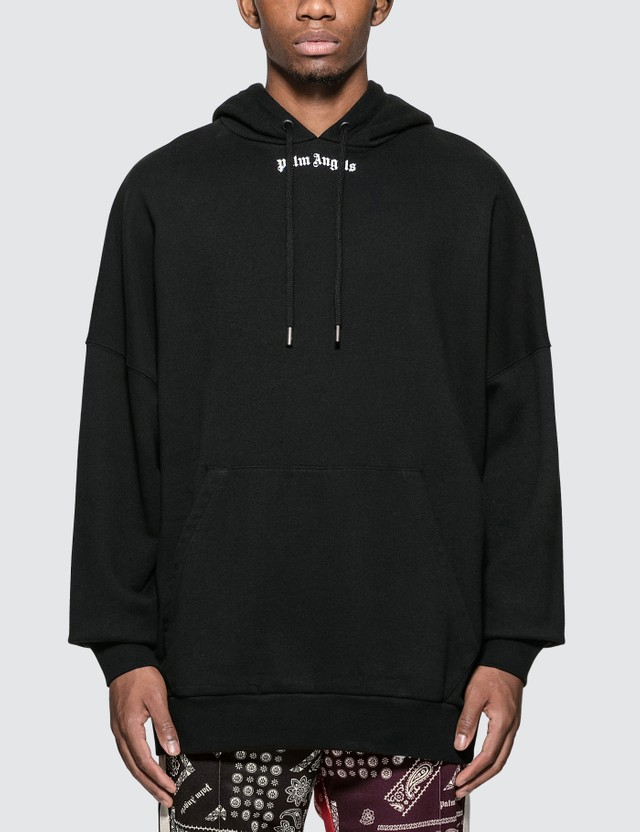 Palm Angels Logo Over Hoodie