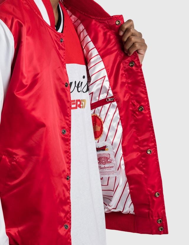 Starter Budweiser x Starter Crown Satin Jacket Red Men