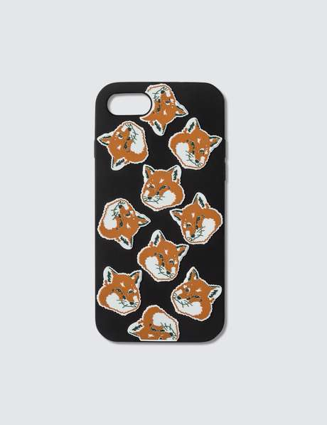 메종 키츠네 Maison Kitsune All-Over Fox Head IPhone 8 Case