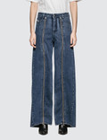 Diesel Red Tag Ultimate Wide Leg Jeans Picture