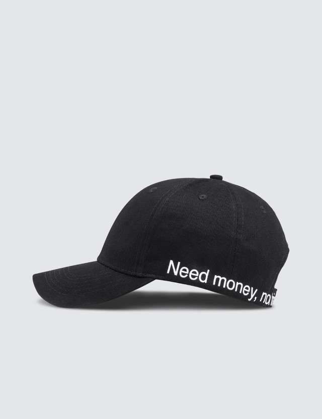"Fuck Art, Make Tees ""Need Money, Not Friends"" Cap"