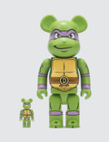 Medicom Toy 100% & 400% Donatello Bearbrick Set Picutre