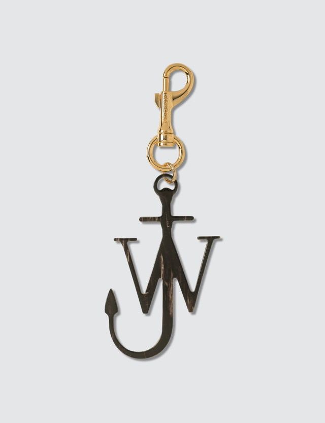 JW Anderson JWA Anchor Keyring Brown Women