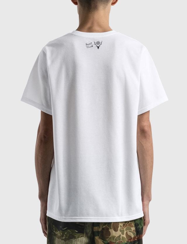 South2 West8 Crew Neck T-shirt White Men