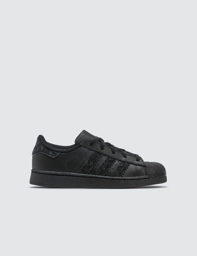 Adidas Originals Superstar Core Black/core Black/core Black Kids