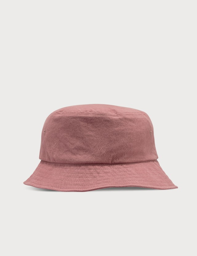 Stussy Big Logo Canvas Bucket Hat