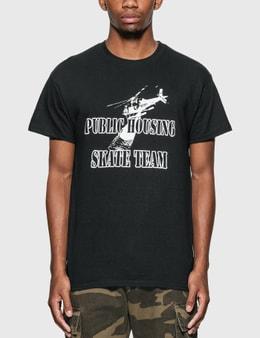 Public Housing Skate Team Helicopter T-Shirt