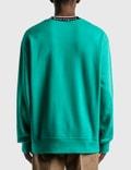Acne Studios Fulton Logo Rib Sweatshirt Green Men