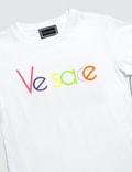 Versace Multicolor Versace Font T-Shirt (Toddler)