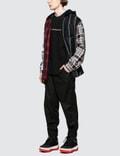 Alexander Wang Wool Tartan Hooded Shirt