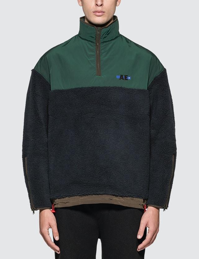 Ader Error Hiker Fleece Oversized Sweater