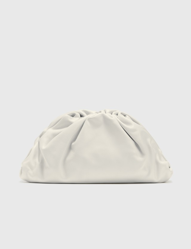 Bottega Veneta The Pouch White-silver Women