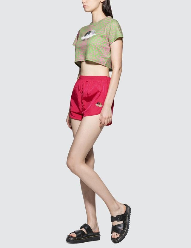 Fiorucci Angel Crop Short Sleeve T-shirt