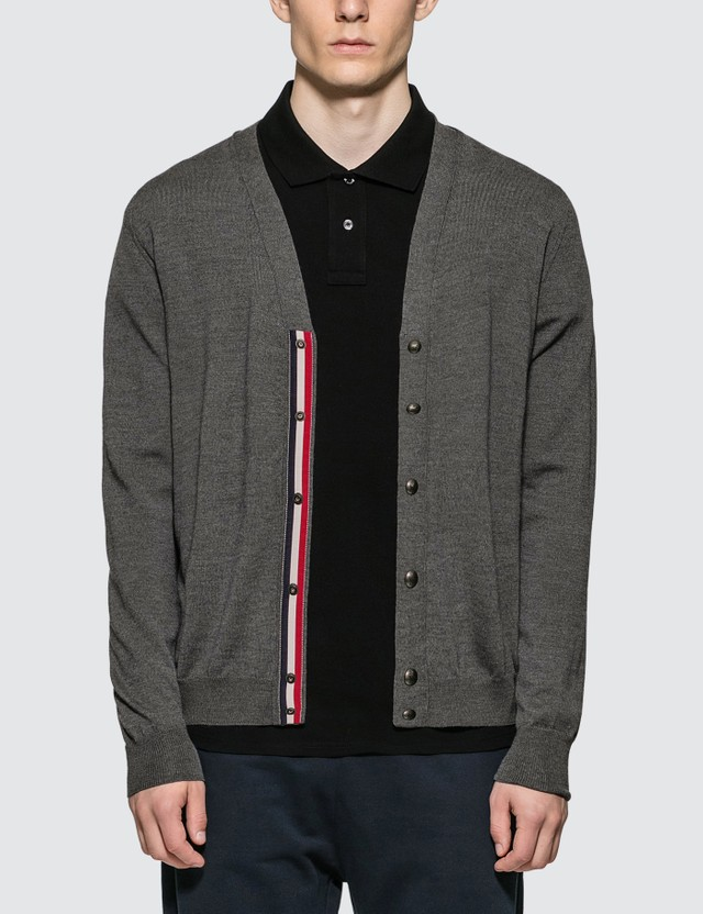 Moncler Button Up Wool Cardigan