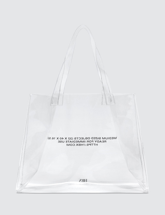 4172b4130 Gift with Purchase - HBX PVC Tote | HBX