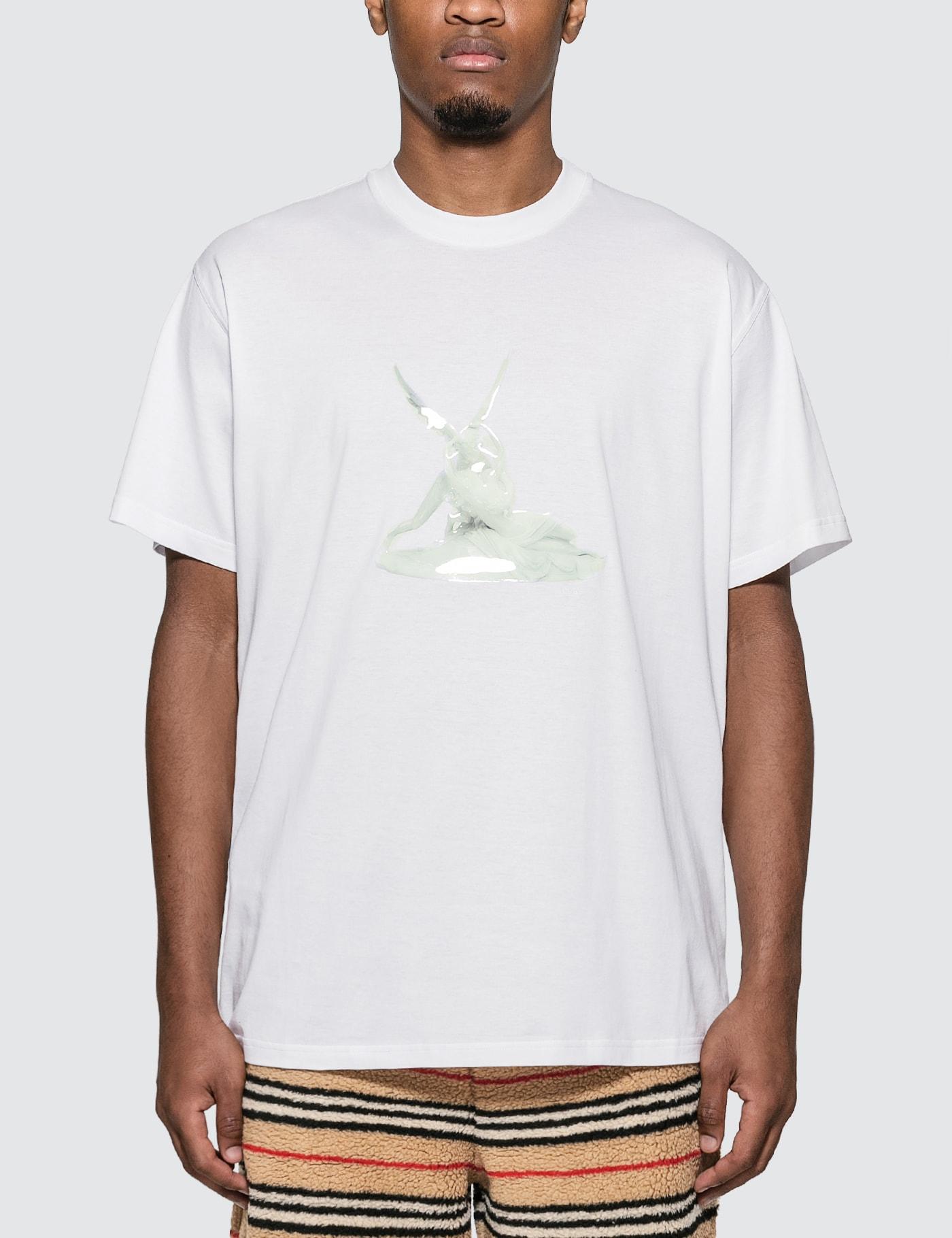 Cupid Print Cotton Oversized T-shirt