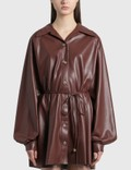 Nanushka Joy Vegan Leather Dress 사진