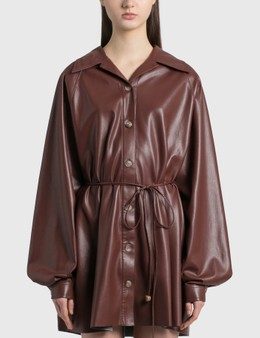 Nanushka Joy Vegan Leather Dress